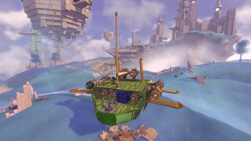 Worlds Adrift: Жёлтые крылья и застрявшие паруса