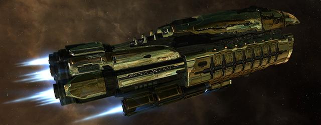EVE Online: Флагман флота Импери отправился на ходовые испытания