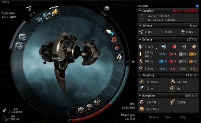 EVE Online: С самого старта