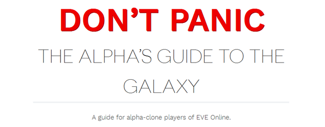 EVE Online: The Alpha's Guide to the Galaxy
