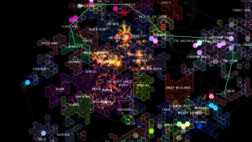 EVE Online: На другой конец галактики на т1 фригате