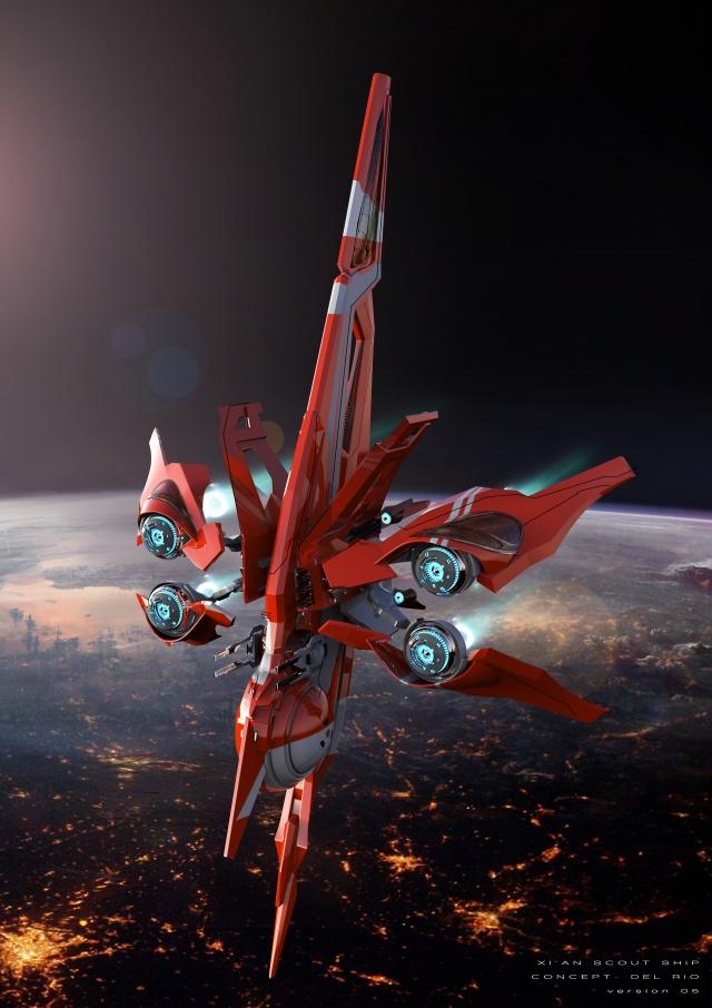 Star Citizen: Заключительный концепт дизайн (Полный размер по клику)