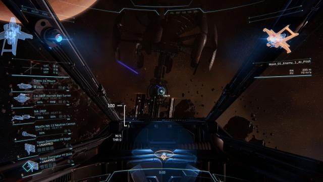 Star Citizen: Модуль Arena Commander (Полный размер по клику)