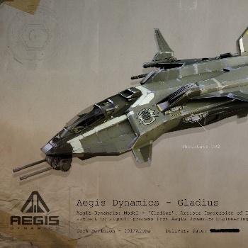 Star Citizen: Gladius - легкий военный истребитель сопровождения от Aegis Dynamics .00 USD. Нажмите по картинке для перехода в магазин.