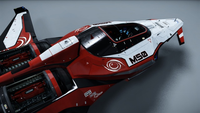 Star Citizen: Гоночное судно M50 от Origin Jumpworks .00 USD (полноразмерное изображение по клику)