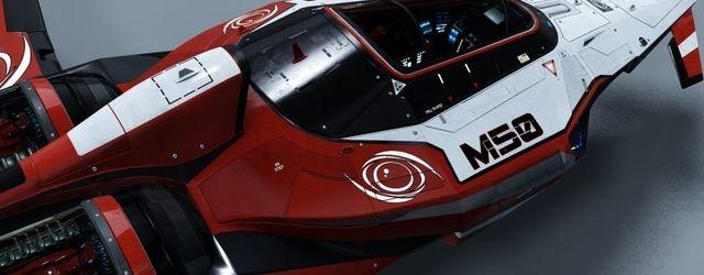 Star Citizen: Готовность для Ангара: Гоночное Судно Origin M50