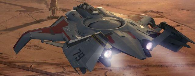 Star Citizen: Корабль Gladiator в Popular Science