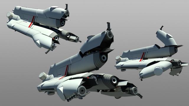 Star Citizen: Switchblade от пилота st_Paulus_81 (наш пилот, кстати)