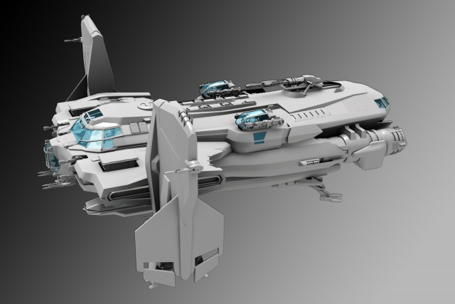 "Star Citizen: AIB-35 ""Gavel"" от пилота EPhalanx"