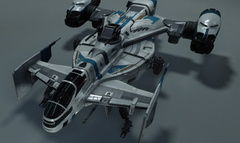 Star Citizen: Cutlass Blue