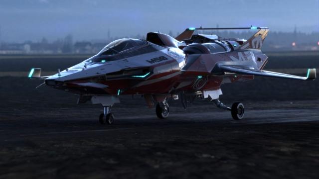 Star Citizen: Origin M50 (полноразмерное изображение по клику)