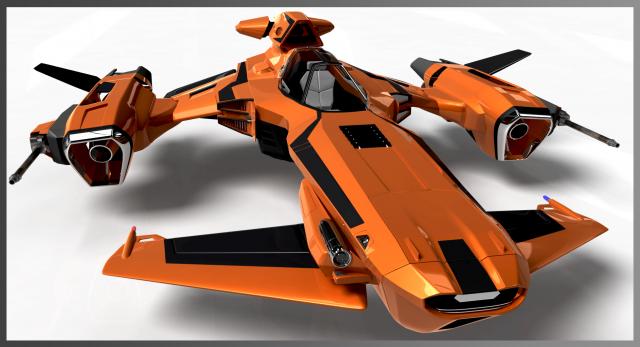 Star Citizen: Puma от пилота EPhalanx