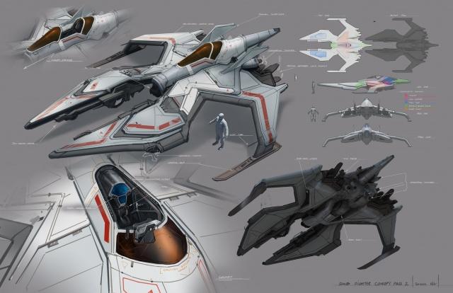 Star Citizen: Малый истребитель от пилота Doom