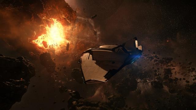 Star Citizen: ТЕПЕРЬ: Arena Commander 1.0 в деле; кадр от пилота PiteCZek (полноразмерное изображение по клику)