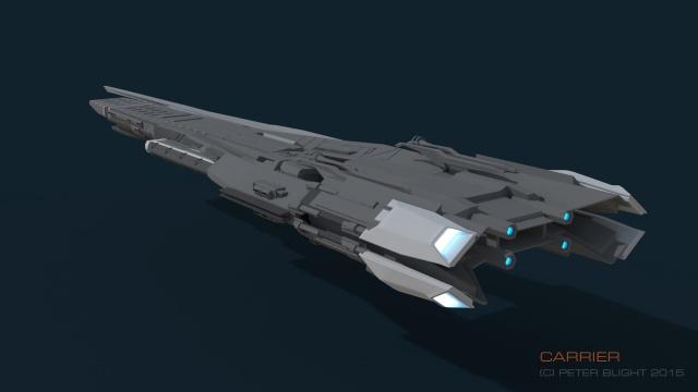 Star Citizen: Тактический авианосец от пилота Chmee