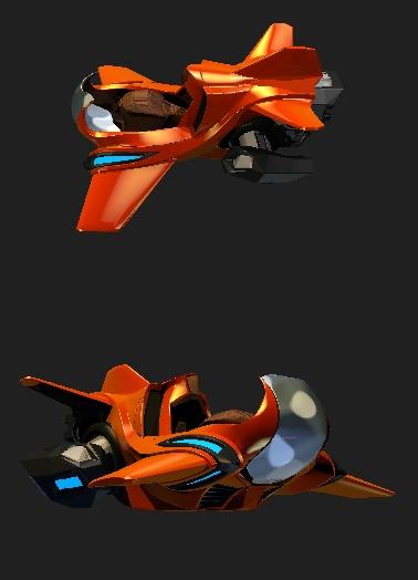 Star Citizen: Гоночное судно от пилота Commander_Borf