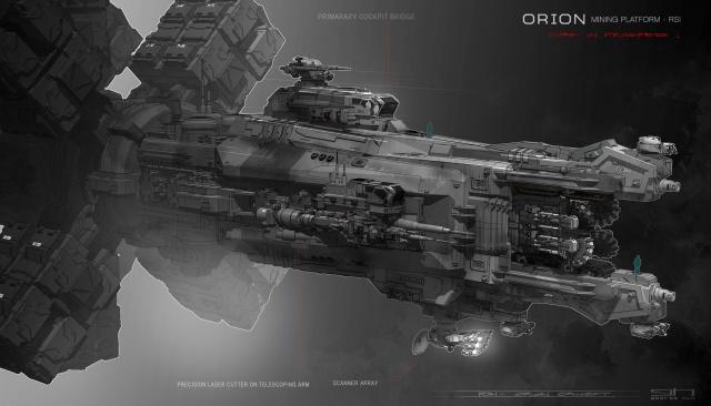 Обновленный концепт корабля Orion (полноразмерное изображение по клику)