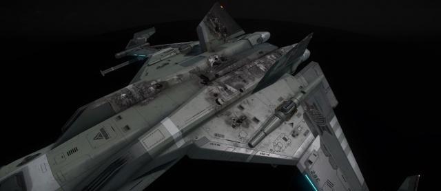 Star Citizen: Рисунок 10 – Сквозные пробоины на корпусе
