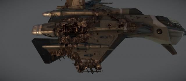 Star Citizen: Дизайн: Новая система повреждений