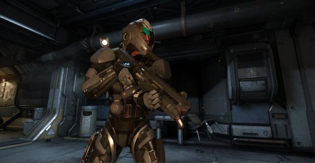 Star Citizen: Оружие опущено