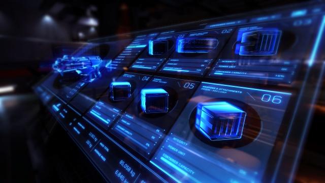 Star Citizen: Экран содержимого и состояния контейнера