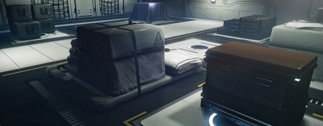 Star Citizen: Дизайн: Взаимодействие с грузом