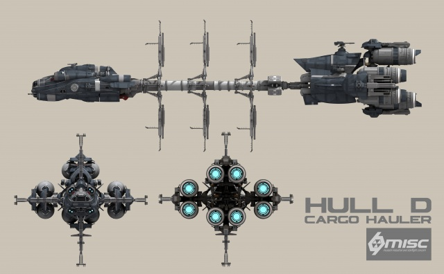 Star Citizen: Hull D