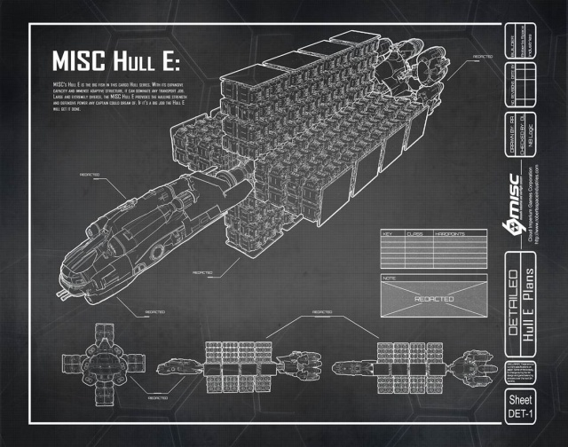 Star Citizen: Hull E