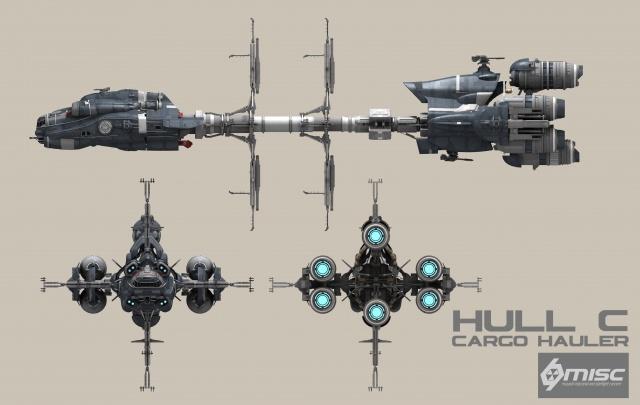 Star Citizen: Hull C