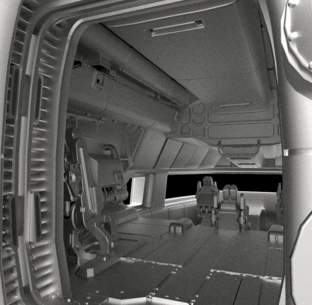 Star Citizen: Внутренние помещения Starfarer