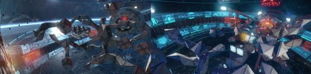 Star Citizen: Astro Arena: До (слева) и После (справа) доработки