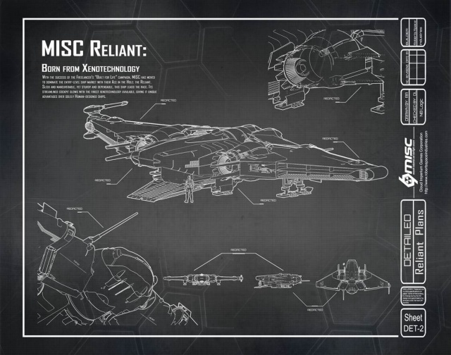 Star Citizen: Встречайте MISC Reliant