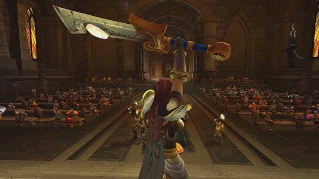 World of Warcraft: Кесарю-кесарево, слесарю-слесарево, а казуальным тыкалкам - мобилы!