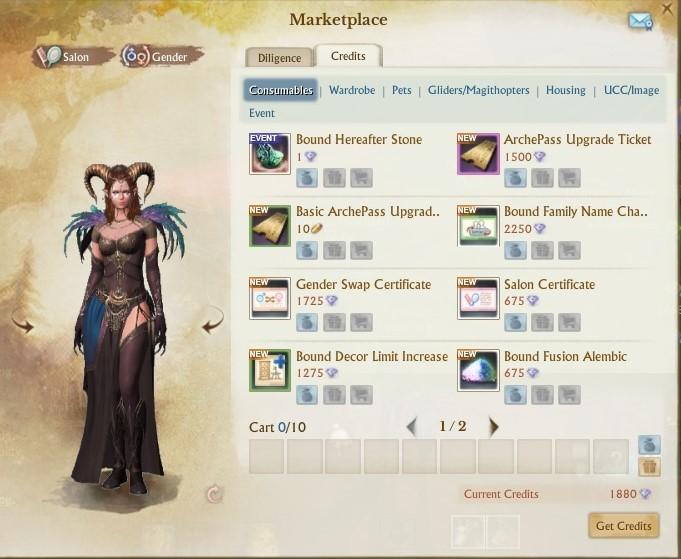 Подробности монетизации новой версии ArcheAge