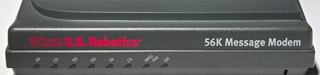 Теория MMO: Блог им. FrankStein: U.S. Robotics 56K dialup modem