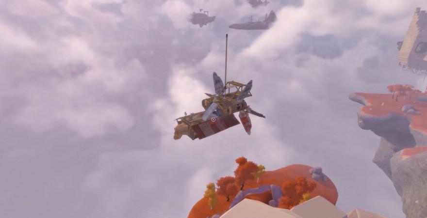 """Бог любит троицу"""" - история о том, как я шел к игре Worlds Adrift."""