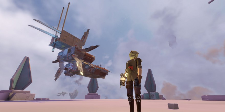 Worlds Adrift: Через 10 минут этот корабль перестанет существовать