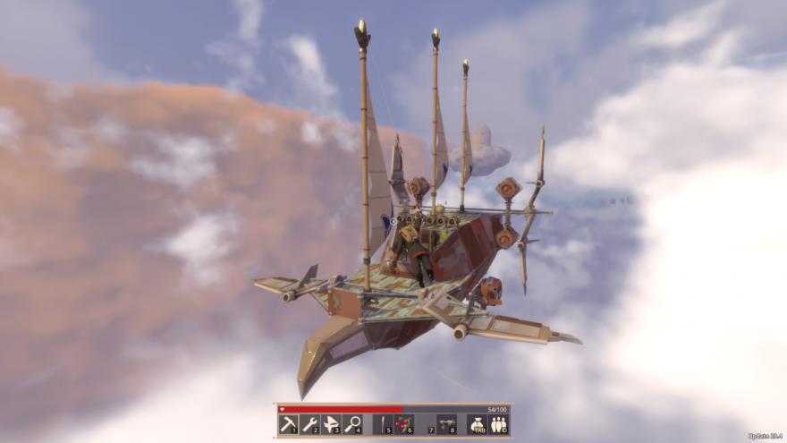 Корабли в Worlds Adrift