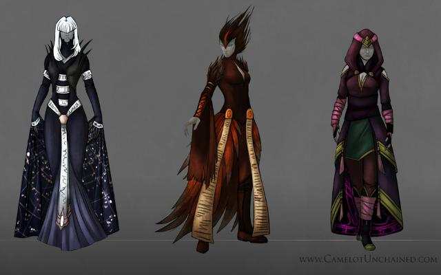 Camelot Unchained: Кто? Маг в пальто!