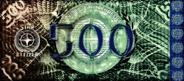 Star Citizen: Любительское изображение банкноты UEC
