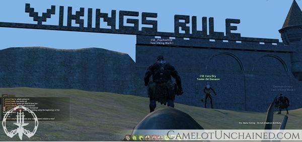 Camelot Unchained: Камелот и нововведения
