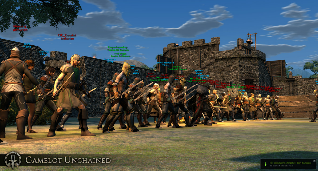 Camelot Unchained: Анимация ближнего боя