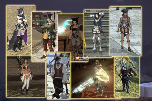 Final Fantasy XIV: Всякие разные встречные.