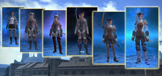 Final Fantasy XIV: Вот буквально за один день полученные квестовые одежки. А их еще можно перекрашивать!..