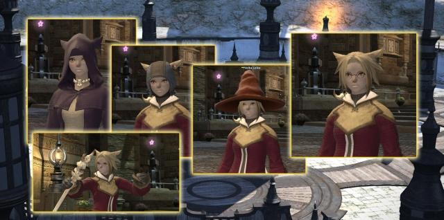 Final Fantasy XIV: Повседневный гардероб мага включает в себя очки и перчатки, похожие на прихватки для горячего. Ну так что же - магия, она и обжечь может!