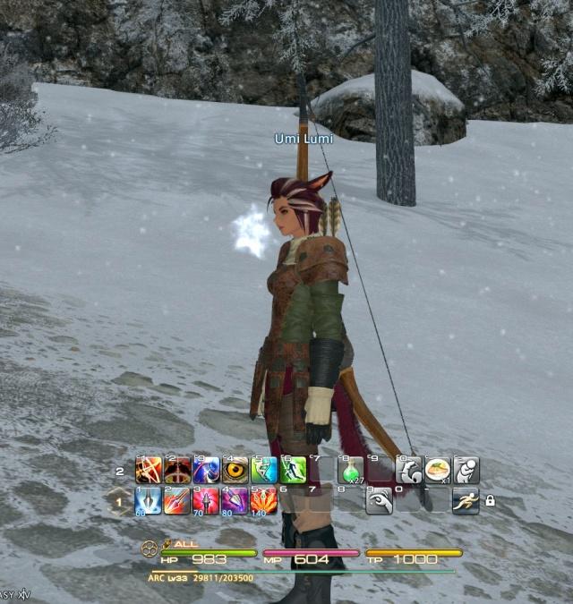 Final Fantasy XIV: И почему меня так умиляет зима в игре? Может, потому что я в жизни ее терпеть не могу?