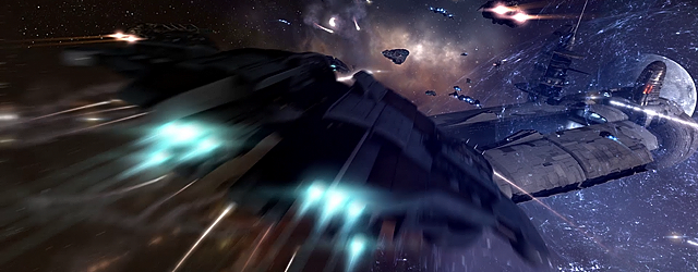 EVE Online: «Decloak, decloak, decloak! Torpedoes on the Dominix!»