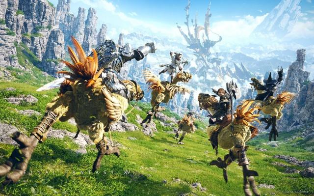 Final Fantasy XIV: Final Fantasy 14 Впечатлений (Часть 1)