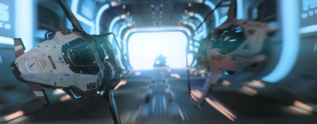 Star Citizen: Тест-драйв гоночных кораблей