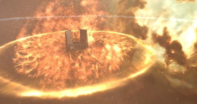 EVE Online: Блог им. Sarfis: Разрушение XL цитадели.